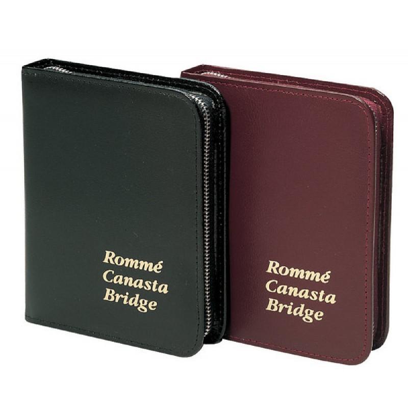 Ravensburger Spiel - Rommé, Canasta, Bridge - Etui aus Lederimitat