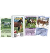 Nürnberger Spielkarten - Quartett - Pferde
