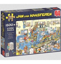 Jumbo Spiele - Jan van Haasteren - Der Drucker, 1500 Teilen