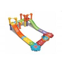 VTech - Tut Tut Baby Flitzer - Spielset Straßen- und Brückenset groß