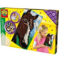 SES Creative - Bügelperlen XL-Pferd