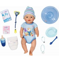 Zapf Creation - Baby Born Interactive Boy Puppe