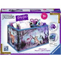 Ravensburger Puzzle - 3D Puzzles - Girly Girl Edition - Aufbewahrungsbox - Animal Trend, 216 Teile