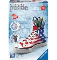 Ravensburger Puzzle - 3D Puzzles - Sneaker, 108 Teile