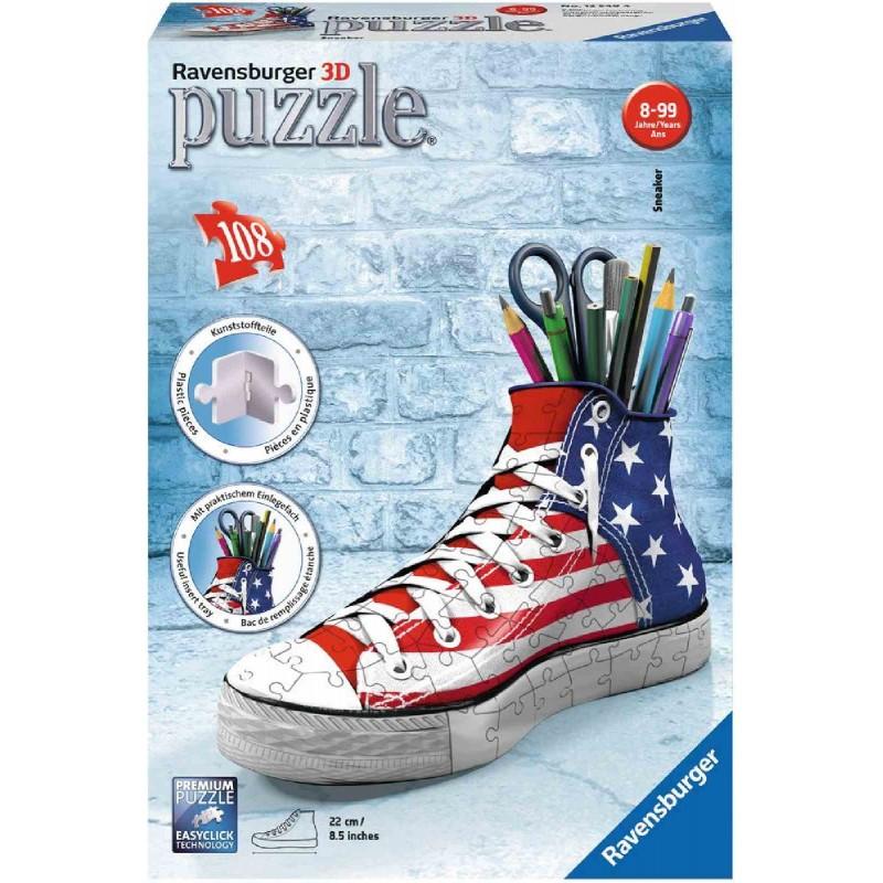 Ravensburger Puzzle - 3D Puzzles - Sneaker, 108 Teile_Ravensburger ...