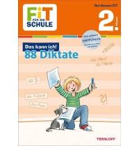 Tessloff - Fit für die Schule - Das kann ich! 88 Diktate 2. Klasse