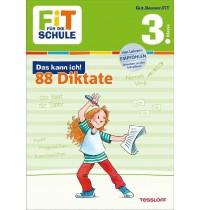 Tessloff - Fit für die Schule - Das kann ich! 88 Diktate 3. Klasse