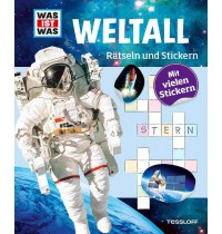 Tessloff - Was ist Was - Rätseln und Stickern - Weltall