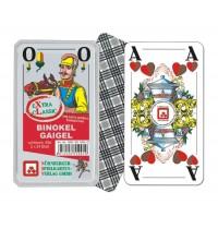 Nürnberger Spielkarten - Binokel-Gaigel eXtra cLassic, württembergisches Bild im Klarsichtetui