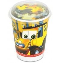 Nürnberger Spielkarten - CUP-Puzzle Baufahrzeuge, 77 Teile