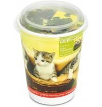 Nürnberger Spielkarten - CUP-Puzzle Katzen, 77 Teile