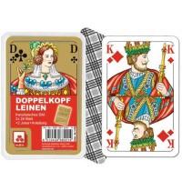 Nürnberger Spielkarten - Doppelkopf Classic, französisches Bild im Klarsichtetui