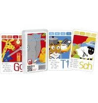 Nürnberger Spielkarten - Quartett - ABC leicht lernen