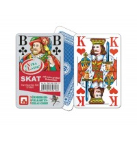Nürnberger Spielkarten - Skat eXtra cLassic, französisches Bild im Klarsichtetui