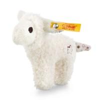 Steiff - Babywelt - Knistertiere - Mini Knister-Lamm mit Rassel, weiß, 11cm