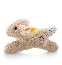Steiff - Babywelt - Knistertiere - Mini Knister-Hase mit Rassel, beige, 11cm