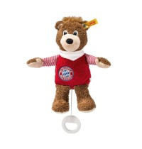 Steiff - Babywelt - Spieluhren - Berni Spieluhr, braun/rot, 24cm