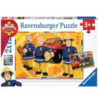 Ravensburger Puzzle - Sam im Einsatz, 12 Teile