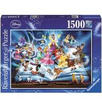 Ravensburger Puzzle - Disney&acute - s magisches Märchenbuch, 1500 Teile