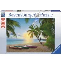 Ravensburger Puzzle - Palmenparadies, 3000 Teile