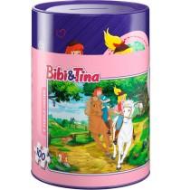 Schmidt Spiele - Spardose und Puzzle - Bibi und Tina, 100 Teile