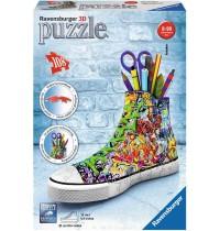 Ravensburger Puzzle - 3D Puzzles - Sneaker Graffiti Style, 108 Teile