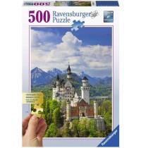Ravensburger Puzzle - Märchenhaftes Schloss Neuschwanstein, 500 Teile