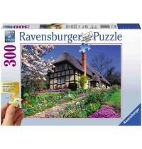 Ravensburger Puzzle - Landhaus im Frühling, 300 Teile