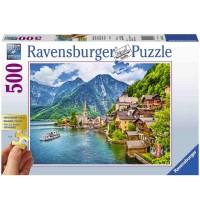 Ravensburger Puzzle - Hallstatt in Österreich, 500 Teile