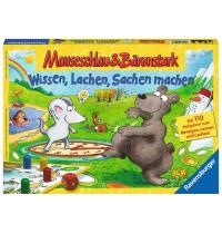 Ravensburger Spiel - Mauseschlau und Bärenstark Wissen, Lachen, Sachen machen