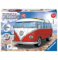 Ravensburger Puzzle - 3D Puzzles - VW Bus T1, 162 Teile