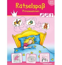 Tessloff - Malen, Rätseln & mehr - Rätselspaß Prinzessinnen