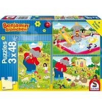 Schmidt Spiele - Benjamin Blümchen: Sommerzeit, 48 Teile
