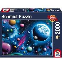 Schmidt Spiele - Traumhaftes Weltall, 2000 Teile
