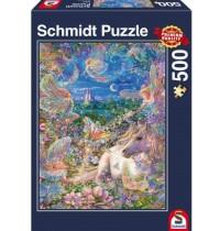 Schmidt Spiele - Elfentraum, 500 Teile