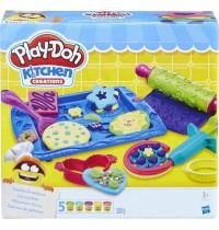Hasbro - Play-Doh Plätzchen Party, Knetmasse