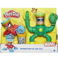 Hasbro - Play-Doh Marvel Spiderman vs. Doc Ock