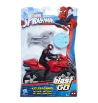 Hasbro - Spider-Man Blast N Go Racers