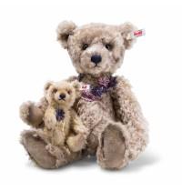 Steiff - Limitierte Teddybären - Flora und Florinchen, milchkaffee, 36cm