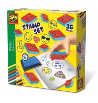 SES Creative - Stempelset Emoticon