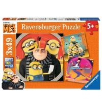 Ravensburger Puzzle - Abenteuer mit den Minions, 49 Teile