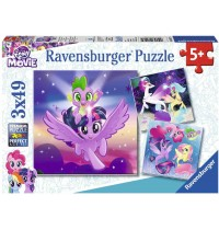 Ravensburger Puzzle - My Little Pony the Movie - Abenteuer mit den Ponys, 49 Teile