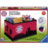 Ravensburger Puzzle - 3D Puzzles - Aufbewahrungsbox - FC Bayern München, 216 Teile