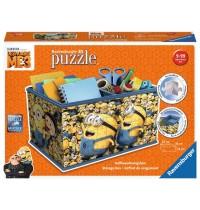 Ravensburger Puzzle - 3D Puzzles - Aufbewahrungsbox - Ich - einfach unverbesserlich 3, 216 Teile