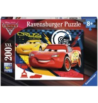 Ravensburger Puzzle - Disney™ Cars - Quietschende Reifen, 200 XXL-Teile