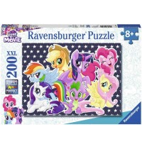 Ravensburger Puzzle - My little Pony - Magische Freundschaft, 200 XXL-Teile