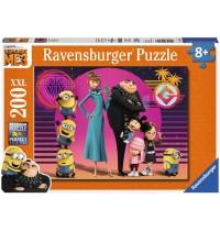 Ravensburger Puzzle - Die Minions - Alle wieder vereint, 200 XXL-Teile