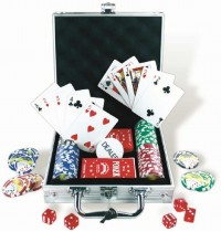 Nürnberger Spielkarten - 100er PokerSet -Royal Flush