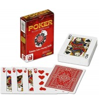 Nürnberger Spielkarten - Pokerkarten No 1776 - Premium Kunststoff rot