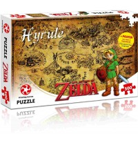 Winning Moves - Puzzle The Legend of Zelda Hyrule Field, 500 Teile